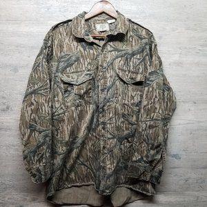 Vintage Mossy Oak Camo Shirt. Perfect! Rare!
